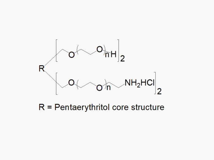 4arm-PEG 2arm-Hydroxyl 2arm-Amine
