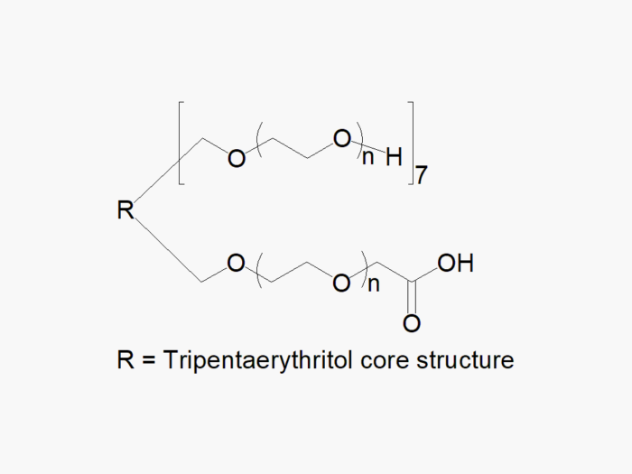 8arm PEG (tripentaerythritol) 7arm-Hydroxyl 1arm-Carboxyl