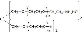 (HO)2-4ARMPEG-(NH2)2