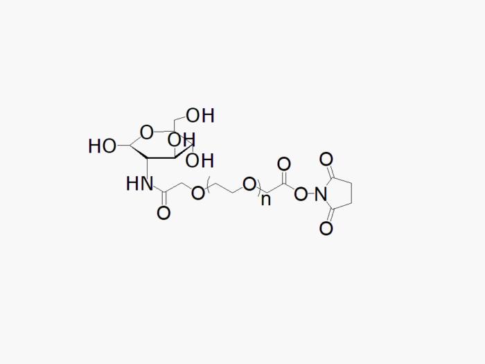 Glucose PEG NHS