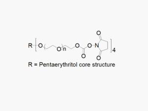 4ARM PEG Succinimidyl Carbonate
