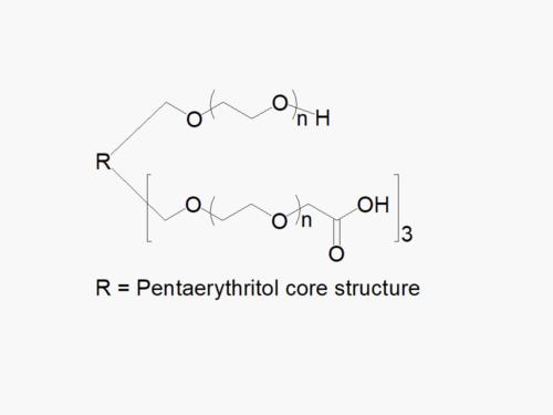 4arm PEG 1arm-Hydroxyl 3arm-Carboxyl