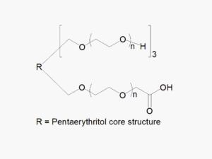 4arm PEG 3arm-Hydroxyl 1arm-Carboxyl
