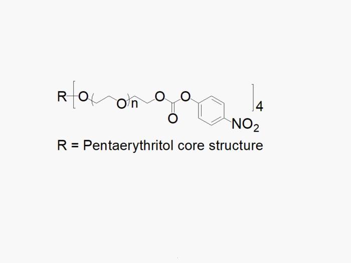 4arm PEG Nitrophenyl Carbonate