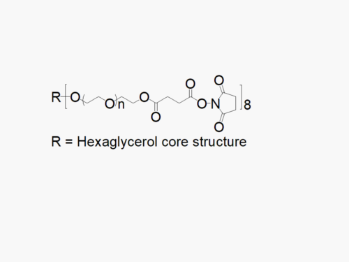 8arm PEG Succinimidyl Succinate (hexaglycerol)