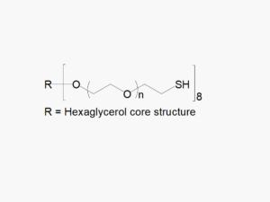8arm PEG Thiol (hexaglycerol)