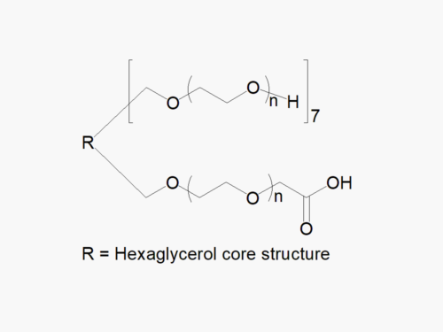 8arm PEG (hexaglycerol) 7arm-Hydroxyl 1arm-Carboxyl