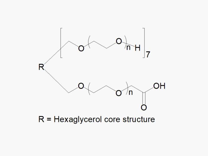 8arm PEG (hexaglycerol) 7arm-Hydroxyl 1arm-Carboxyl