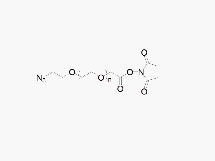 Azide PEG Succinimidyl Carboxymethyl Ester