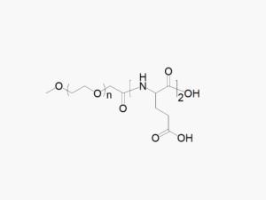 Methoxy PEG di-Glutamic Acid