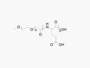 Methoxy PEG tri-Glutamic Acid