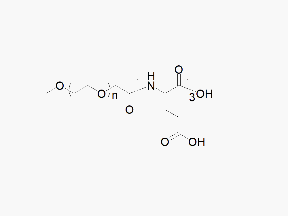 Methoxy PEG tri-Glutamic Acid