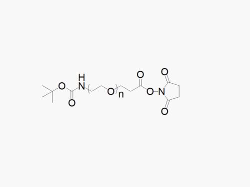 TBOC Amine PEG Succinimidyl Propionate
