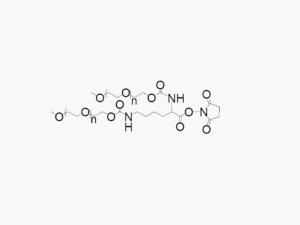 MPEG2 Lysine Succinimidyl Carboxymethyl Ester