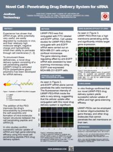 Novel Cell Penetrating PEG Drug Delivery System for siRNA_ JenKem Technology